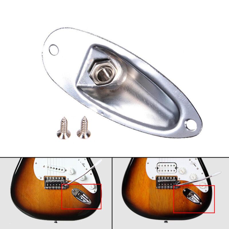 boat style input output jack plate socket for fender. Black Bedroom Furniture Sets. Home Design Ideas