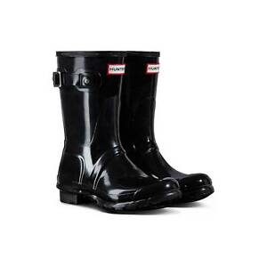 Hunter Boots Original Short Gloss Black Size 7 (38 Euro) BNIB Belrose Warringah Area Preview