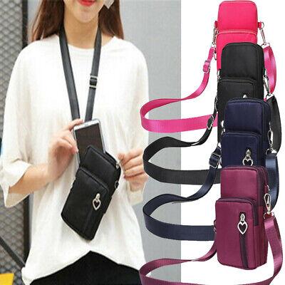Women Cross-body Mobile Phone Shoulder Bag Pouch Case Belt Handbag Purse -