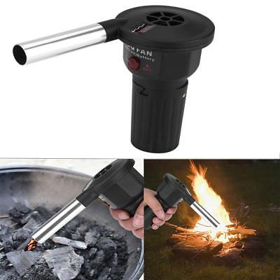 Battery Powered BBQ Fan Air Blower for Outdoor Camping Picni
