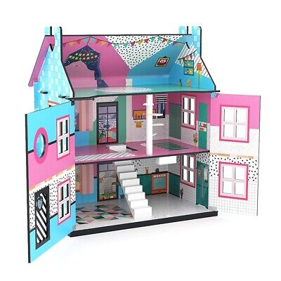 J`ADORE MANSION DOLLHOUSE GIRLS PARTY  HOUSE COLLECTIBLE DOLLS HOUSE