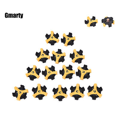 14PCS Replacement Golf Shoe Spikes Champ Fast Twist Cleat System Screw Studs US