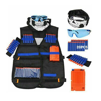 Tactical Vest Suit Jacket Kit For Nerf Guns N-Strike Elite S