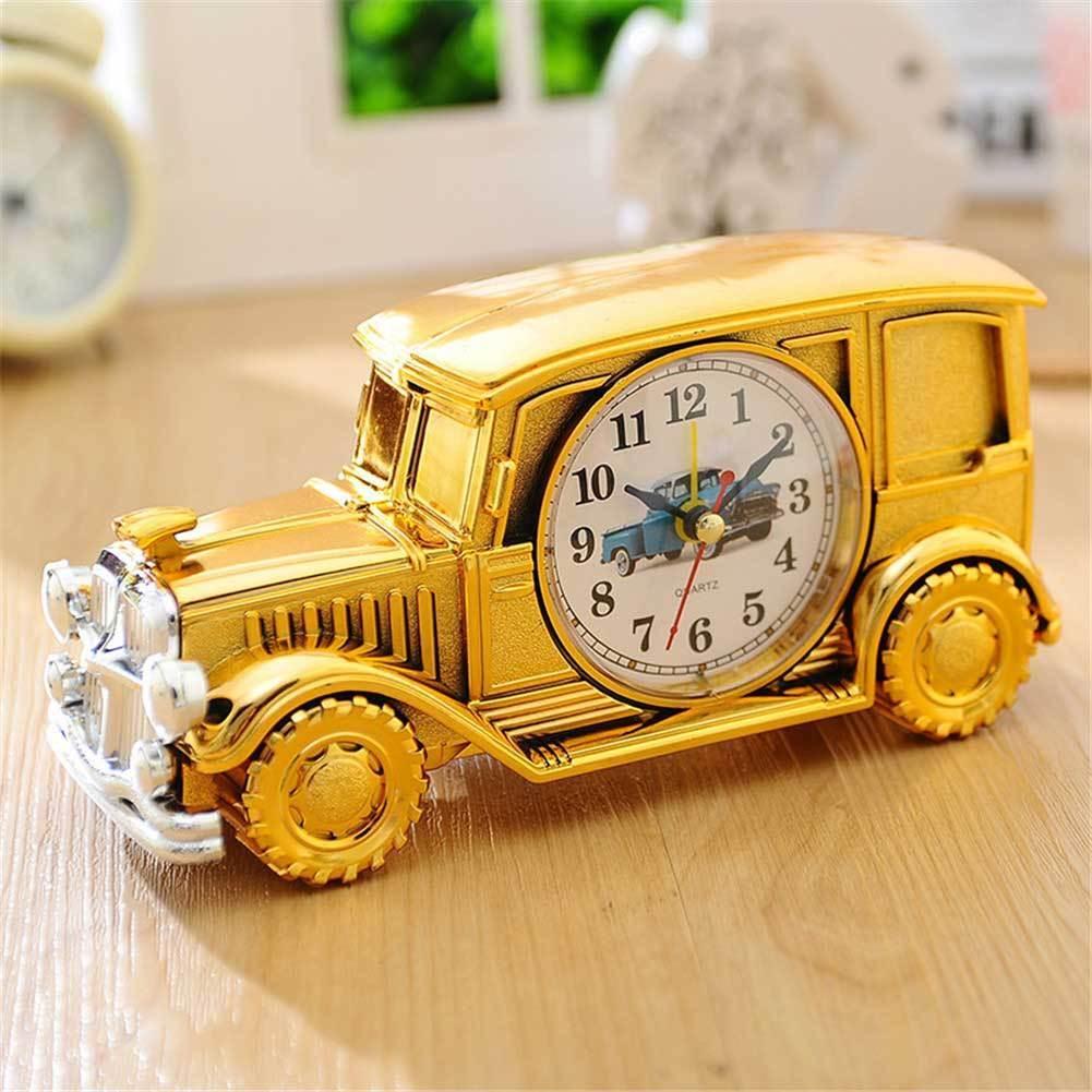 Desk Shelf Alarm Clock Classic Vintage Car Gift for Kids Table Desk Shelf Easter