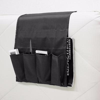 Arm Chair Organizer Armrest Couch Pocket Remote Control Caddy Holder Storage JS