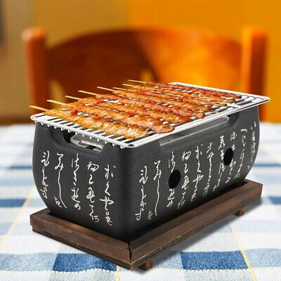 Japanese Korean Ceramic Food BBQ Stove Grill Chicken Barbecue Charcoal Stove