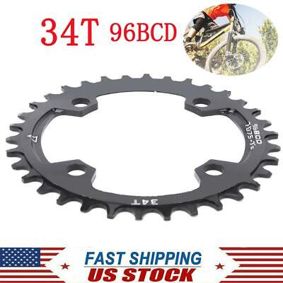 Details about  /96-BCD MTB Mountain Bike Chainring Round Narrow Wide Chain Ring 32//34//36//38T