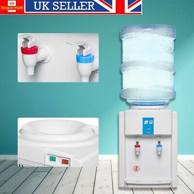 220V Water Filter Machine Ice/Cold & Hot Water Cooler Dispenser Table Top Home