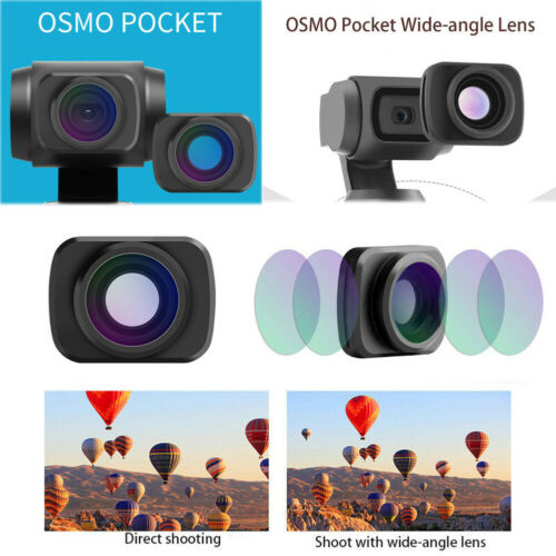 US Magnetic Wide-Angle Camera Lens For DJI OSMO Pocket Handh