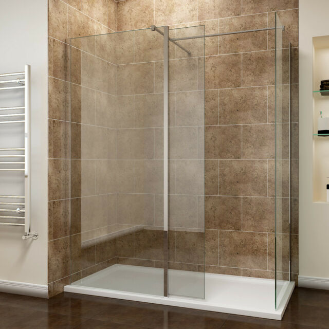 Ebay Shower Screen 1500X900Mm Walk In Shower Screen Cubicle Flipper Panel Stone Tray