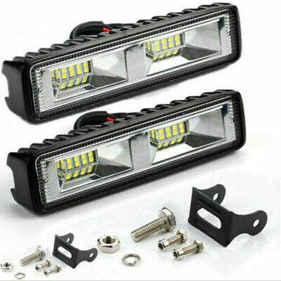 2X 48W LED Work Light Bar Flood Spot Lights Driving Lamp Offroad Car SUV 12V UK