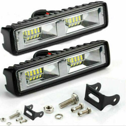 Car Parts - 2X 48W LED Work Light Bar Flood Spot Lights Driving Lamp Offroad Car SUV 12V UK