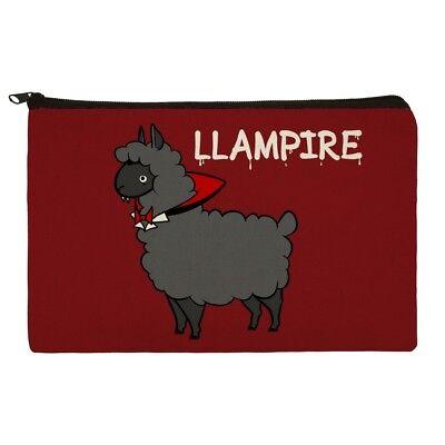 Llampire Llama Vampire Funny Makeup Cosmetic Bag Organizer Pouch (Vampires Makeup)