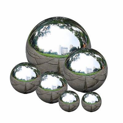 6 Pack Garden Stainless Steel Gazing Balls Ball Globes Floating Pond Balls ()