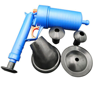 Toilet High Pressure Air Pump Drain Blaster Sink Pipe Plunger Open Cleaner Mgic Home & Garden