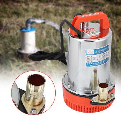 12V 280W Submersible Deep Well Water Pump Irrigation Water Pump 3200RPM/Min DIY