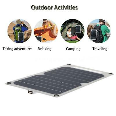 20W Solar Panel 12V to 5V Battery Charger USB for Car Boat Caravan Supply JM for sale  Shipping to South Africa