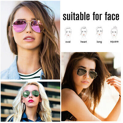 Vintage Pilot Men Aviator Polarized Sunglasses For Women Unisex Fashion (Lv Sunglasses Women)