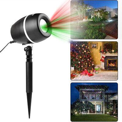 LED Laser Licht Projektor Lichteffekt Strahler Weihnachtsdeko IP65 Innen Außen