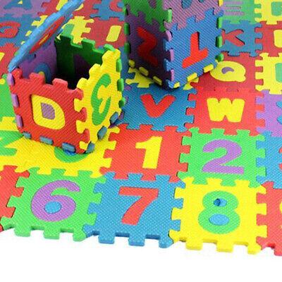 36PC Interlocking EVA Soft Foam Exercise Floor Mat Home puzzle game Kids Play