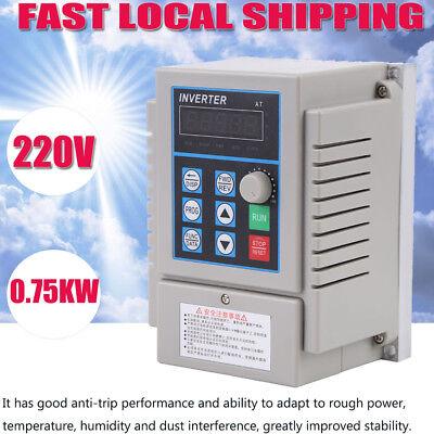 0.75kw 220v Single Phase Variable Frequency Drive Inverter Cnc Vfd Vsd