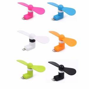 Portable Travel Mini USB Fan For iPhone 5, 6 & Android Lara Outer Geelong Preview