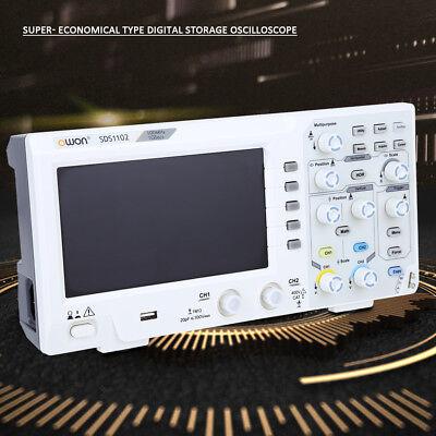 7 Digital Oscilloscope 2-channel 100mhz Bandwidth 1gss Oscilloscope Highq