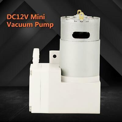 Dc12v Mini Vacuum Pump Negative Pressure Suction Pumping 7lmin -76kpa 50w