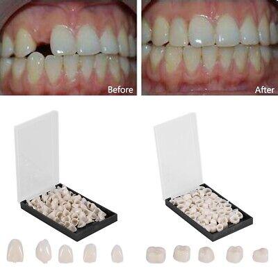 Dental Temporary Crown Material For Anterior Teeth Molar Tooth Porcelain 1 Box A