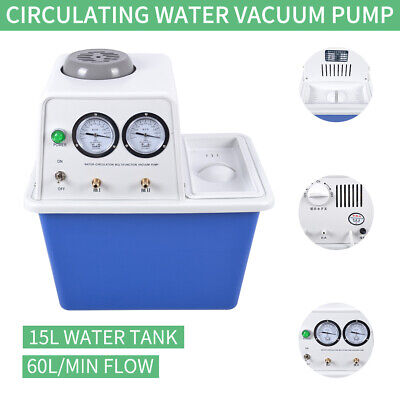 180w 110v Circulating Water Vacuum Pump 60lmin Lab Chemistry Equipment Top