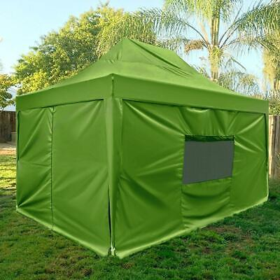Quictent Upgraded 10x15 ft Ez Pop up Canopy with Sides Rolle