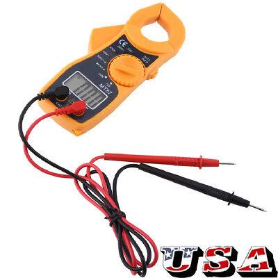 Digital Lcd Multimeter Current Tester Meter Ammeter Ohmmeter Ohm Volt Ac Dc Us