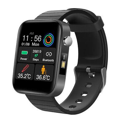 2020 Bluetooth Smart Watch Körper Temperatur Test Herzfrequenz Blutdruck Armband