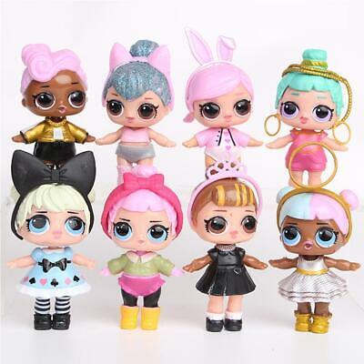 8pcs L.O.L. Surprise Doll Series LOL Baby Tear Open Random Color Kinder Spiel