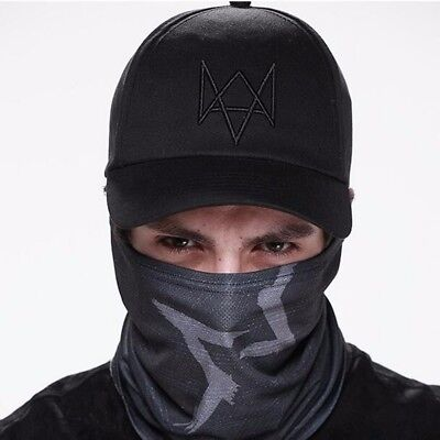 Watch Dogs Aiden Pearce Black Half Mask Face Costume Cosplay Neck Watchdogs Game - Watch Dogs Costume