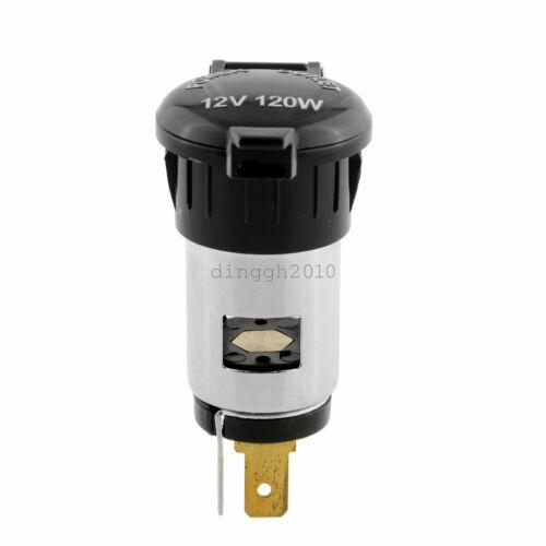 Car Parts - 12V-120W Car Cigarette Lighter Socket Power Plug Outlet Parts For Truck Motor-cn