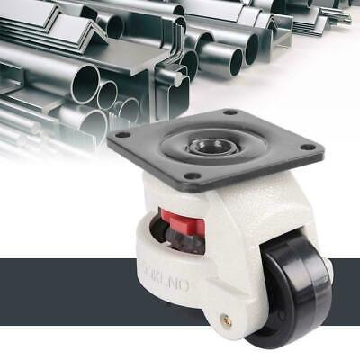 4pcs 2 Retractable Leveling Caster Industrial Machine Swivel Caster Heavy Duty