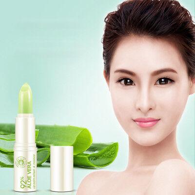 Portable Natural Aloe Vera Moisturizing Lip Balm Colorless Repair Lip Skin Care Aloe Vera Lip Balm