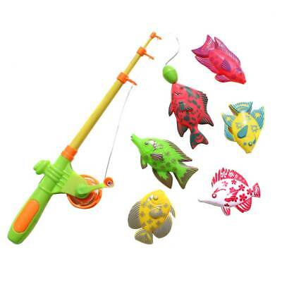lzeug Angelrute Fisch  Angelrute Angeln Spielset ABS Toys (Spielzeug-angelrute)