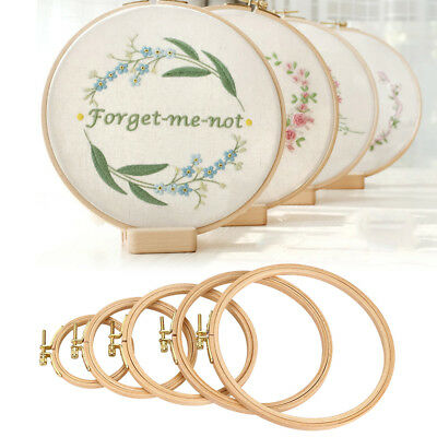 - Frame Hoop Ring Embroidery Cross Stitch Sewing Tool DIY Art Craft Accessories HG