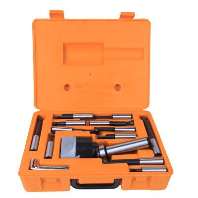 Mt4-f1-18-12pcs Boring Tool Set Cnc Milling Tools Kit Set 75mm With 3pcs Wrench