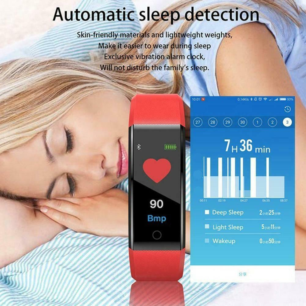 Fitness Smart Watch Tracker Fitbit For Android iOS Pressure