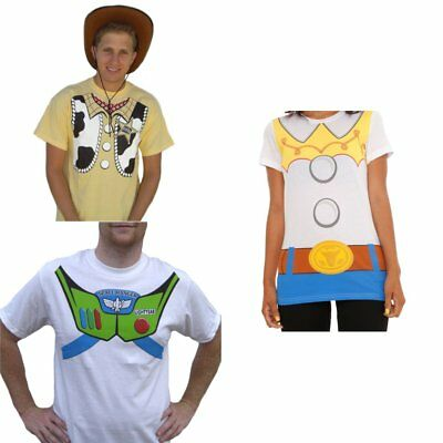Toy Story T-Shirts (Choose Your Character) Woody Jessie Buzz Lightyear Costume - Jessie Woody Costumes
