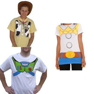 Toy Story T-Shirt (Wählen Sie Charakter) Woody Jessie Buzz Lightyear (Herren Buzz Lightyear Kostüm)