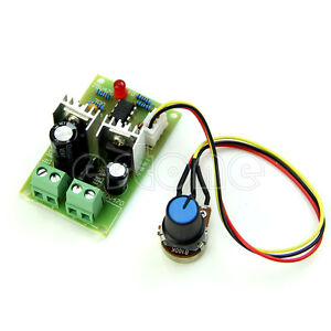 Pulse Width PWM 12V/24V/36V DC Motor Speed Regulator Controller Switch 3A