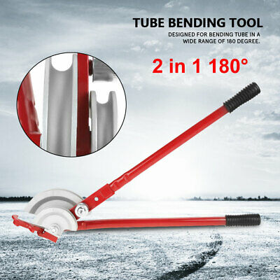 2 In 1 180 Handheld Pipe Bender Copper Heavy Duty Tube Bending 15mm22mm