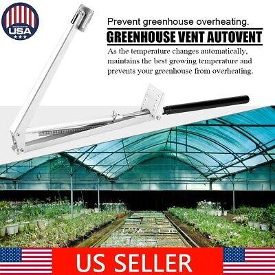 Solar Heat Sensitive Automatic Window Opener Greenhouse Roof  Vent Autovent US Greenhouse Automatic Window Openers