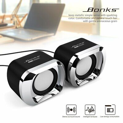Speakers Computer USB  PC Desktop Laptop Stereo forLenovo So