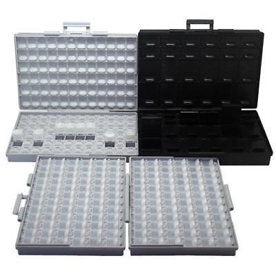3pcs Aidetek Smt Resistor Capacitor Storage Box Organizer Diodes 2box144box48as