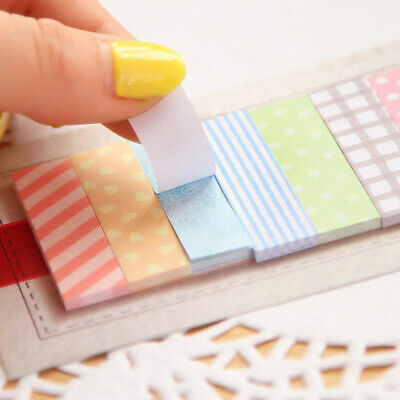 160pcs Sticky Notes Page Markers Multicolored Index Tabs Flags Notes For Marker